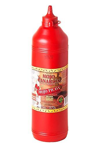 Mojo Canarión Mojo Picon, Scharfe Rote Mojosauce - 1er Pack (1 x 1 L)