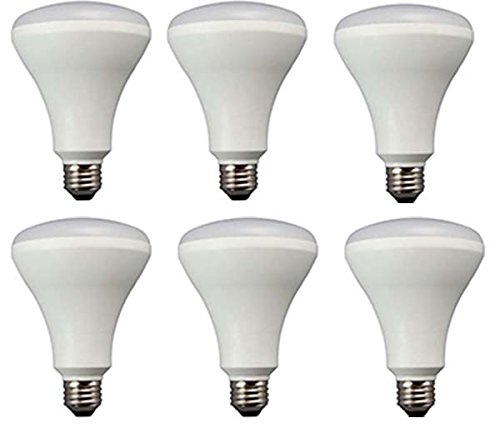 TCP Recessed Kitchen LED Light Bulbs, 65W Equivalent, Non-Dimmable, Soft White (6 Pack)