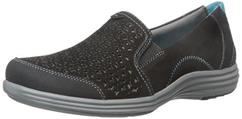 Aravon Women's Bonnie-AR Slip-On Loafer,Black,7 D US