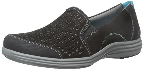 Aravon Women's Bonnie-AR Slip-On Loafer,Black,9 B US