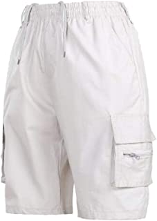 AngelSpace Men's Stylish Multi-Pockets Active Casual Regular Tactical Pants