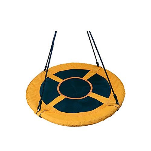 600D Oxford Cloth Butterfly Swing,Outdoor Children Swing Saucer Rotate Tree Nest Swing Flying Round Swing Kids Hanging Seat Toys (03,80cm)