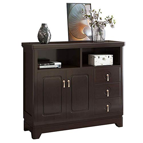 FTFTO Daily Equipment Sideboard Wood Buffet Storage Cabinet Living Room Table Contemporary Sideboard Buffet Credenza Buffets Sideboards (Color : Purple 1 Size : 108x37x95cm)