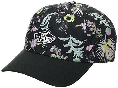 Vans Court Side Printed Hat Tapa, Negro Califas, Talla única para Mujer