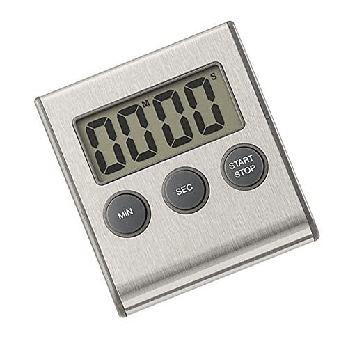 Digital kökstimer kök matlagning Timer nedräkning klocka för matlagning magnetisk LCD-skärm nedräkning stoppur klocka (inget batteri)