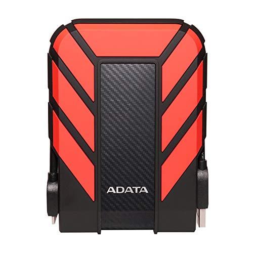 ADATA HD710 Pro Externe Festplatte, 2TB Kapazität, USB 3.2 Gen1, rot