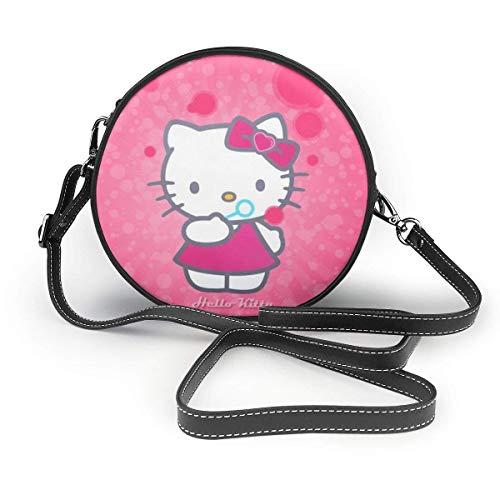 Hello Kitty Bolsas de hombro de piel para mujer y hombre