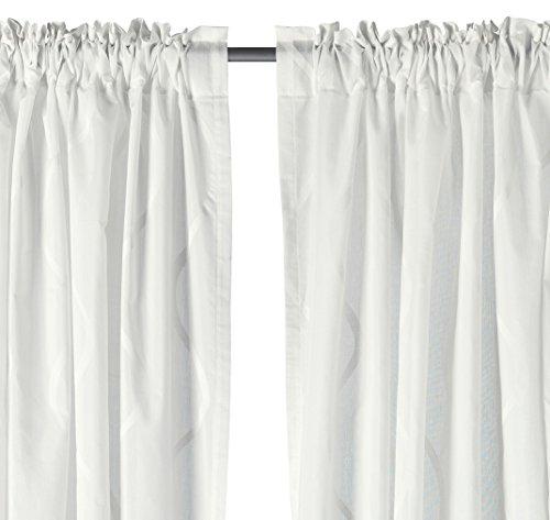 Ikea Vorhang Hillmari, 144,8 x 244,8 cm, 1 Paar