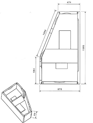 Wannenträger zur Acryl-Eckbadewanne Passion 160 x 90 cm, linke Ausführung