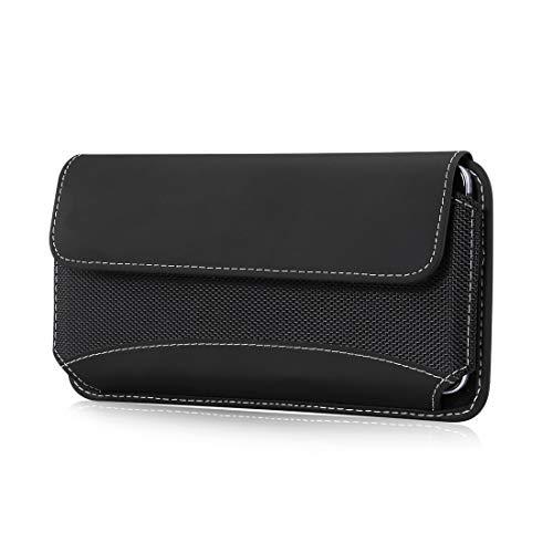 per iPhone 11 Pro XS X 8 7 6s 6 robusto nylon Pouch Holster, trasporto cellulare titolare cintura caso caso caso vita per Samsung s10e S9 S8 S7 S6 Edge