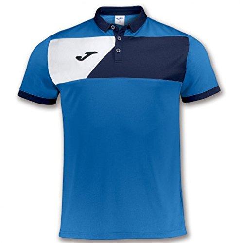 Joma Polo Crew II Royal M/C Polo de Sport Unisexe Bleu Roi XXS Bleu Roi