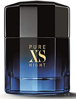 PURE XS NIGHT by PACO RABBANNE for men 3.4 Fl oz (100ml) tester box