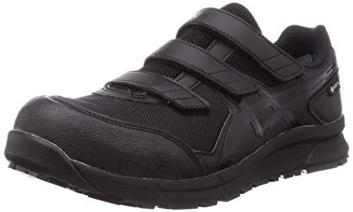 [アシックス] ワーキング 安全靴/作業靴 ウィンジョブ CP602 G-TX JSAA A種先芯 耐滑ソール 防水 αGEL搭載 メンズ ブラック/ブラック 28.0