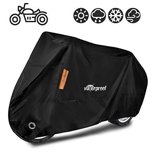 HomeChi Cubierta de motocicleta, protección de ciclomotores de moto impermeables contra el polvo de…