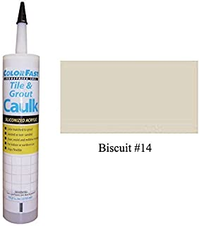 Mapei Color Matched Caulk by Color Fast (Sanded/Rough) (Biscuit)
