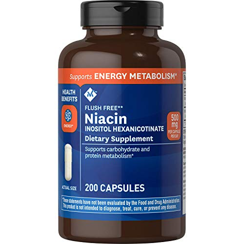 Member's Mark - Flush Free (B3) Niacin Inositol...