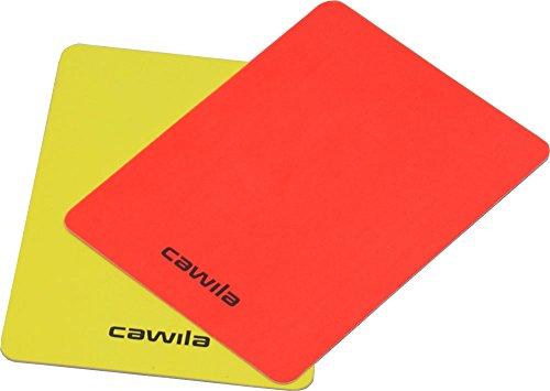 Cawila–Arbitro Penale Set di schede, Rosso/Giallo, 00720203