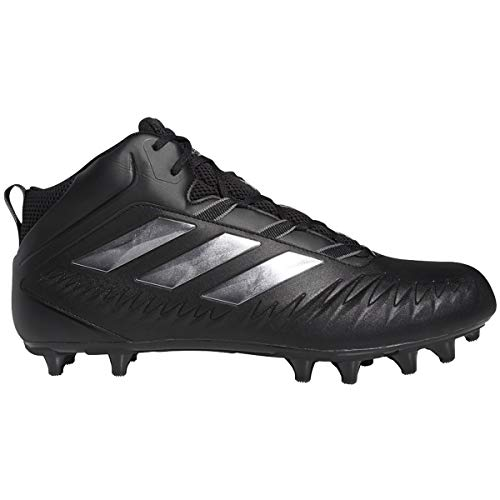adidas Nasty Fly (Wide) 20 Cleat - Fútbol para hombre, negro (Core Black-night Metallic-gris), 46 EU