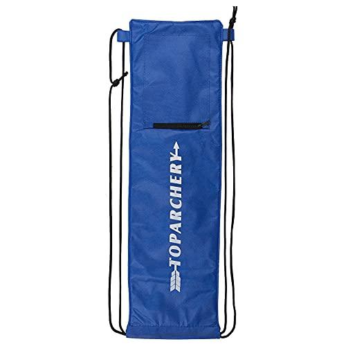 Toparchery Tiro con Arco Takedown Recurve Bow Bag Soft Case Holder Caza Target Tips Bolsa 68x18cm
