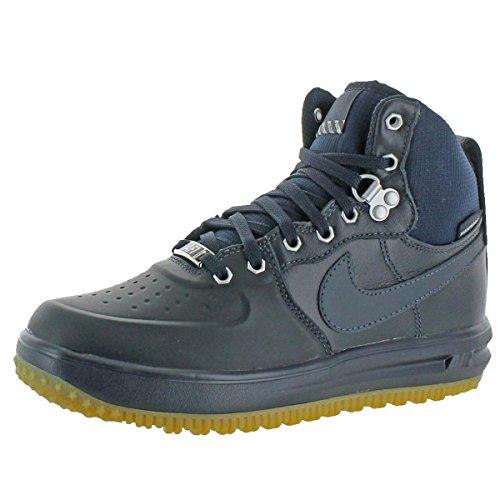 Nike Grade-School Lunar Force 1 Sneakerboot GS Dark Obsidian 706803-401 Shoe 7Y M US Youth