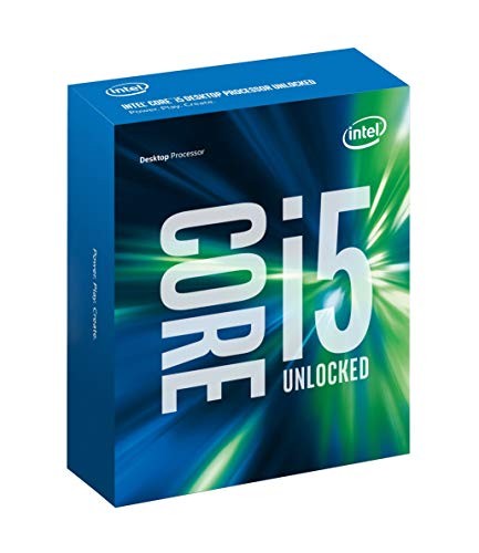 Intel BX80662I56600K Core i5-6600K LGA1151 CPU de 3,5 a 3,9 GHz (reacondicionado)