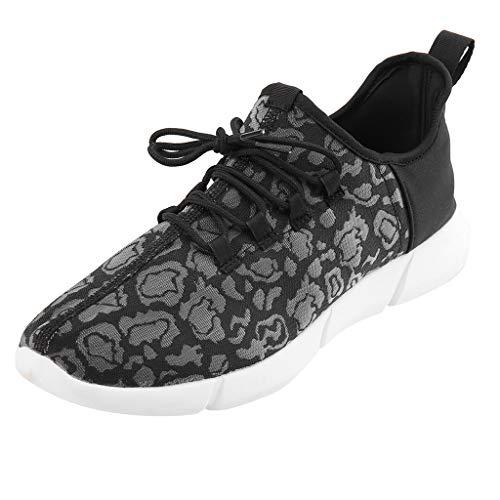 KERULA Sneaker Herren Damen Paar Lace Up led leichte Freizeitschuhe Bunte Blitzschuhe atmungsaktive Turnschuhe Outdoor Sicherheitsschuhe Trekkingschuhe Laufschuhe Sneakers Schuhe
