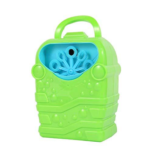 Thole utdoor Baby Bubble Machine Automatisches Bubble Maker Spielzeug für Kid Girl Boy Badewanne Seifenballons Bubble Concentrate,Green
