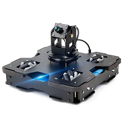 Yahboom Raspberry Pi 4B AI Robot Kit 3-DOF Camera...