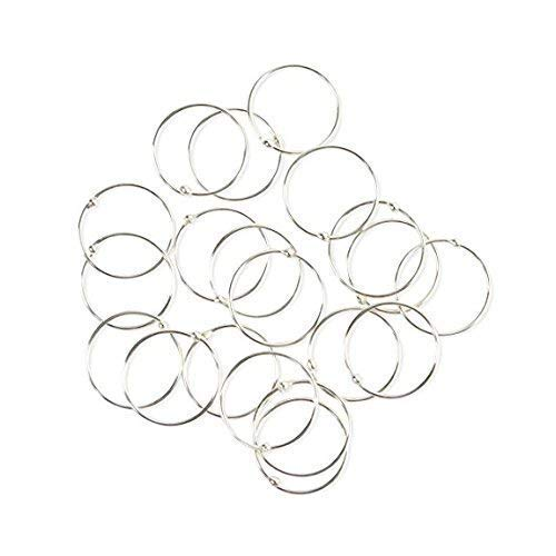 Pack of 20 VERY SMALL & EXTRA THIN 925 Sterling Silver Nose Rings size 10mm gauge 0.5mm
