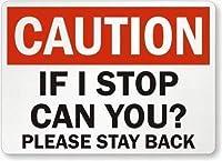 注意やめたらできますか?戻ってください。金属スズサイン通知街路交通危険警告耐久性、防水性、防錆性