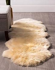 ムートン ムートンラグ 天然羊毛100% 1年間品質保証制度あり オーストラリア産原皮使用 ラグマット 長毛8 ふわふわ暖かいカーペットラグ 冬 暖か 夏 涼しい ソファームートン