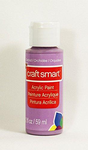 Craft Smart Acrylic Paint 2 Fl.oz. 1 Bottle 50 + Colors (Orchid)