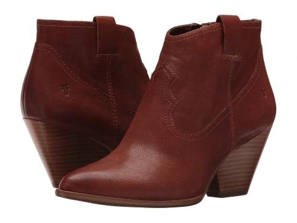顧問限界ペインティングFrye(フライ) レディース 女性用 シューズ 靴 ブーツ アンクルブーツ ショート Reina Bootie - Cognac [並行輸入品]