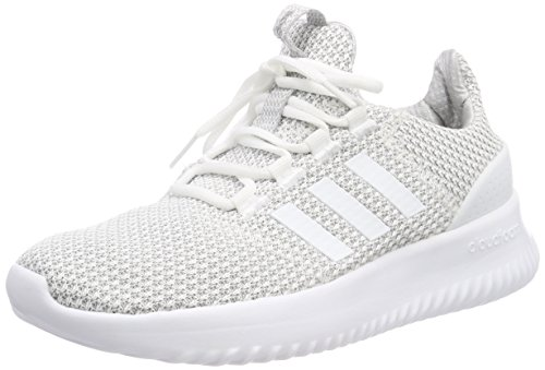 adidas Cloudfoam Ultimate, Unisex Kid's Low-Top Trainers, White (Footwear White/Footwear White/Grey Two), 10 Child UK (28 EU)