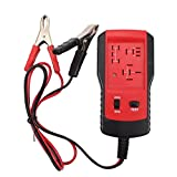 Coches Relay Tester 12V Reparación Auto Reparación Dispositivo Dispositivo Dispositivo Detector Detector Detector Red Car Repair Herramientas eléctricas y herramientas de control rojo