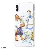 iPhone XS Max ケース /『ディズニー キャラクター キャラ かわいい』/TPUケース+背面パネル/『美女と野獣/プリンセスのプロフィール』