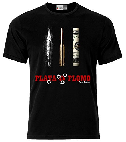 Plata O Plomo Colombia Cocaine T-Shirt (L)