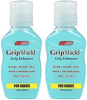 2Toms GripShield - Grip Enhancer, Keeps Hands Dry, 1.50 Ounce (2 Bottles)