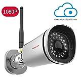 Foscam FI9900P 1080P Cámara Bala IP WiFi Vigilancia, Detección Movimiento, visión Nocturna, Compatible iOS y Android. (P2P, 1080p, ONVIF) Version ESPAÑOLA.