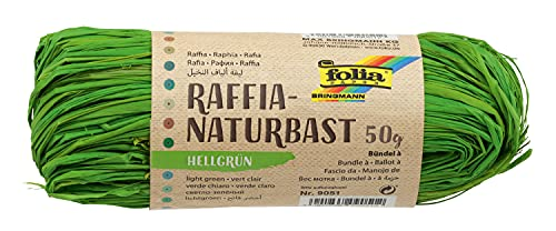 Folia Raffia Naturbast 50 g