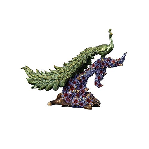TXBH Creative Peacock Decoration Ho…