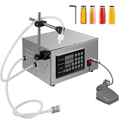 VEVOR Máquina de Llenado de Líquido de Control Numérico Automático Cuantitativo XK-280 Máquina de Llenado de Pasta Neumática Nueva Máquina Llenadora de Líquidos y Pastas Máquina de llenado de líquido