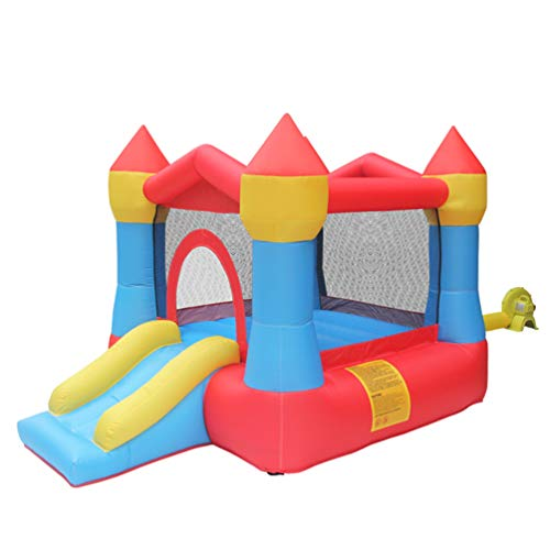XGYUII Kids Bouncy Castle Water Slide Sports Toys Indoor Trampoline Male And Female Slide Summer Toys Disney Princess Indoor And Outdoor