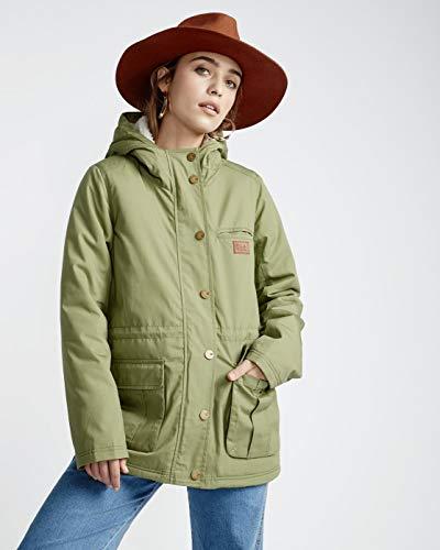 BILLABONG Facil Iti Chaqueta, Verde (Boyscout 3770), One Size (Tamaño del fabricante: XS) para Mujer