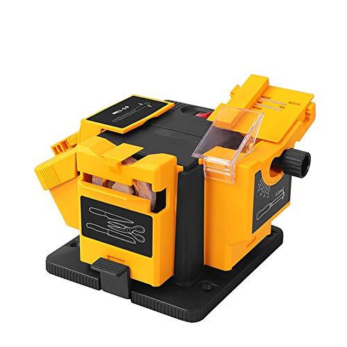QqHAO Máquina de pulir, Taladro de torsión, máquina de Taladro de Pulido, Tijeras eléctricas para el hogar, cepilladora, Cuchillo de Cocina, muela abrasiva Multifuncional