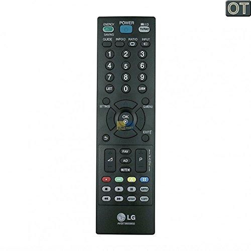 LG Fernbedienung Schwarz für verschiedene LG TV, Fernseher Typ AKB73655802