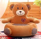 Kalavika - Sofá cama infantil, sillón para niños acolchado, puf de algodón...