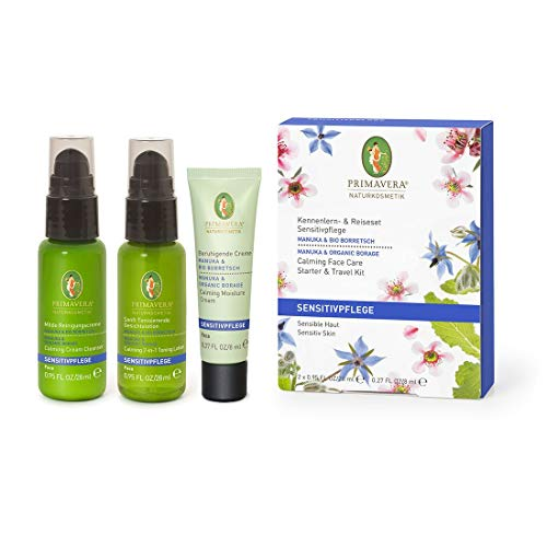 Primavera Sensitiv Travel Set Manuka & organic Borage