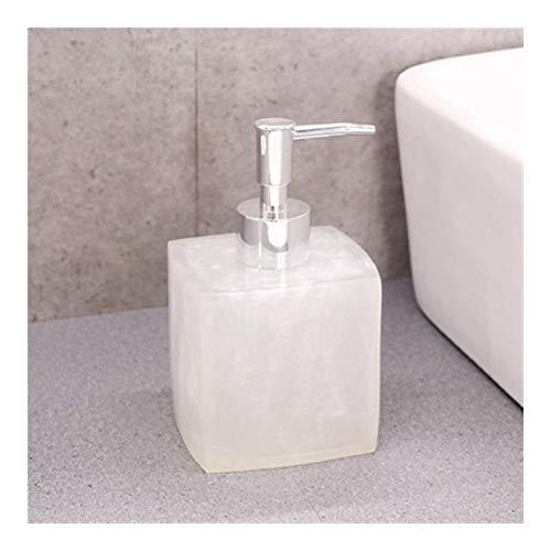 dosificador jabon baño Mármol Manual dispensador de jabón Plaza for el hogar Creativo Champú Gel de Ducha Loción Press Tipo de Accesorios de Lavado 400ml dispensador jabon (Color : B)