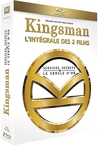 Kingsman : Services Secrets + Kingsman : Le Cercle d'Or [Blu-ray] [Blu-ray + Digital HD] [Blu-ray + Digital HD]